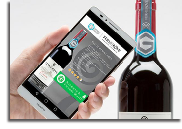 "Thinfilm/Diageo ""Smart Bottle"""